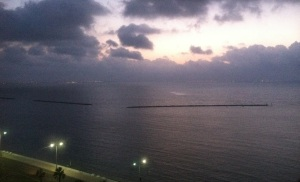 A view from the Penthouse: Sunrise over the Gulf