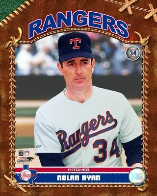 Nolan Ryan played his last five big league seasons as a Ranger.