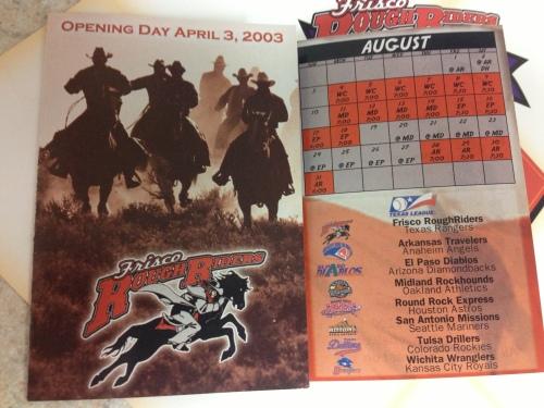 2003 Schedule
