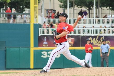 Ross Wolf pitched for the RoughRiders for most of his 2012 season and made one appearance in 2013 for Frisco. Today, he makes his first big league start for the Texas Rangers.