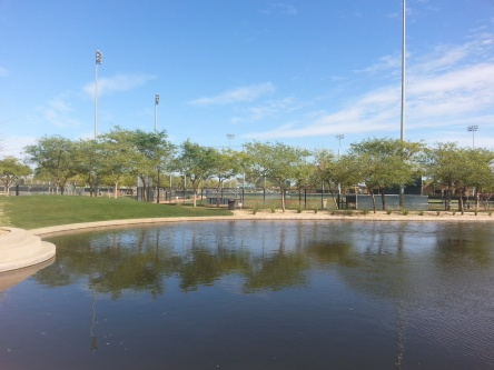 Resort, or baseball complex?