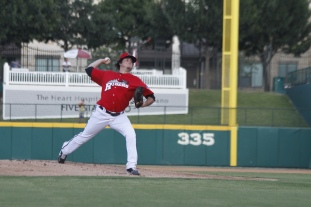 Luke Jackson figures to lead a very talented starting rotation this season.