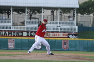 Matt Harrison was one of 13 rehabbers who played with the 'Riders in 2013.