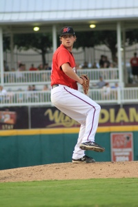 Chad Bell looked to be on the fast track to the big leagues before Tommy John surgery sidelined him for 2013. (Alex Yocum-Beeman/Frisco RoughRiders)