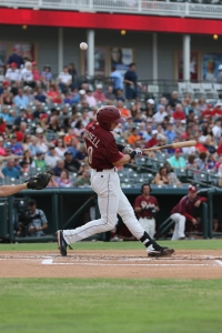 Ryan Cordell is at the top of the Texas League in numerous offensive categories.