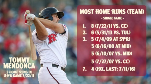 Blog - single game homers